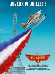 Affiche française de Planes 2 (Disney)