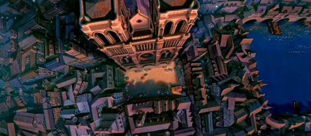 Décor du film Le Bossu de Notre-Dame