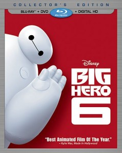 Big Hero 6 : Visuel Blu-Ray Disc