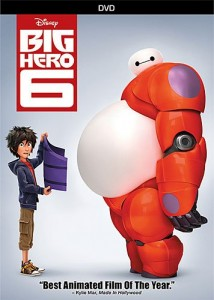 Visuel DVD US de Big Hero 6