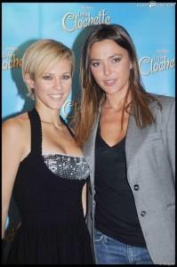 Lorie et Anna Ramade à l'avant-première du film La Fée Clochette à Paris