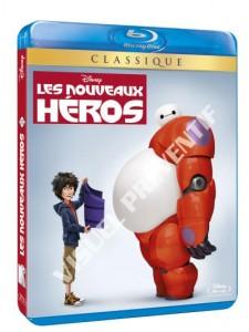 Visuel préventif Blu-Ray FR (zone 2) Les Nouveaux Héros