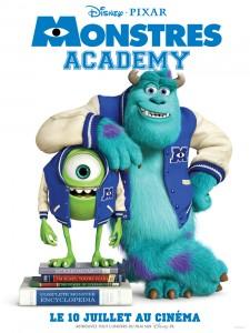 Affiche du fim Monstres Academy