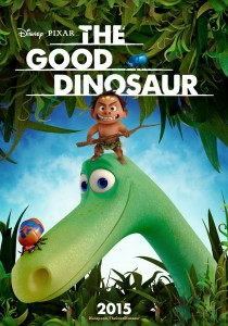 "Affiche US ""The Good Dinosaur"""