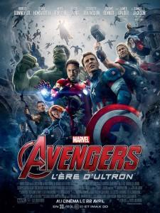 """Affiche française du film """"Avengers : L'ère d'Ultron"""""""