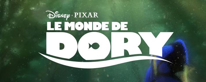 """Logo du film """"Le Monde de Dory"""""""
