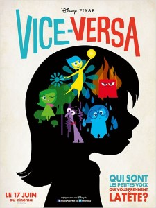 Affiche française du film Vice-Versa