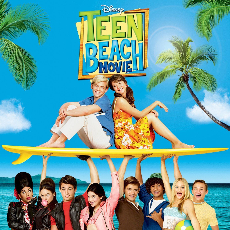 video teen in beach