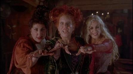 hocus pocus les trois sorcières