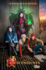 "Affiche américaine de ""Descendants"""