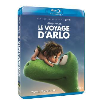 Jaquette provisoire du Blu-Ray zone 2 du Voyage d'Arlo