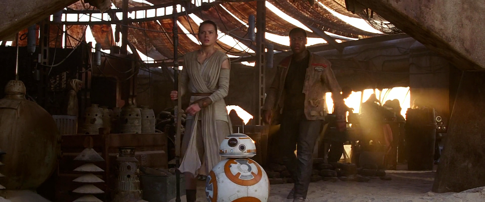 Star Wars 7 : Finn, Rey et BB-8