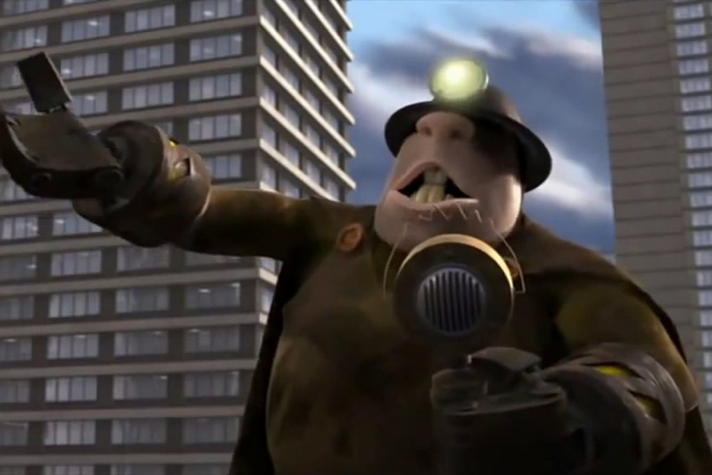 Le Démolisseur (Les Indestructibles - Disney/Pixar)