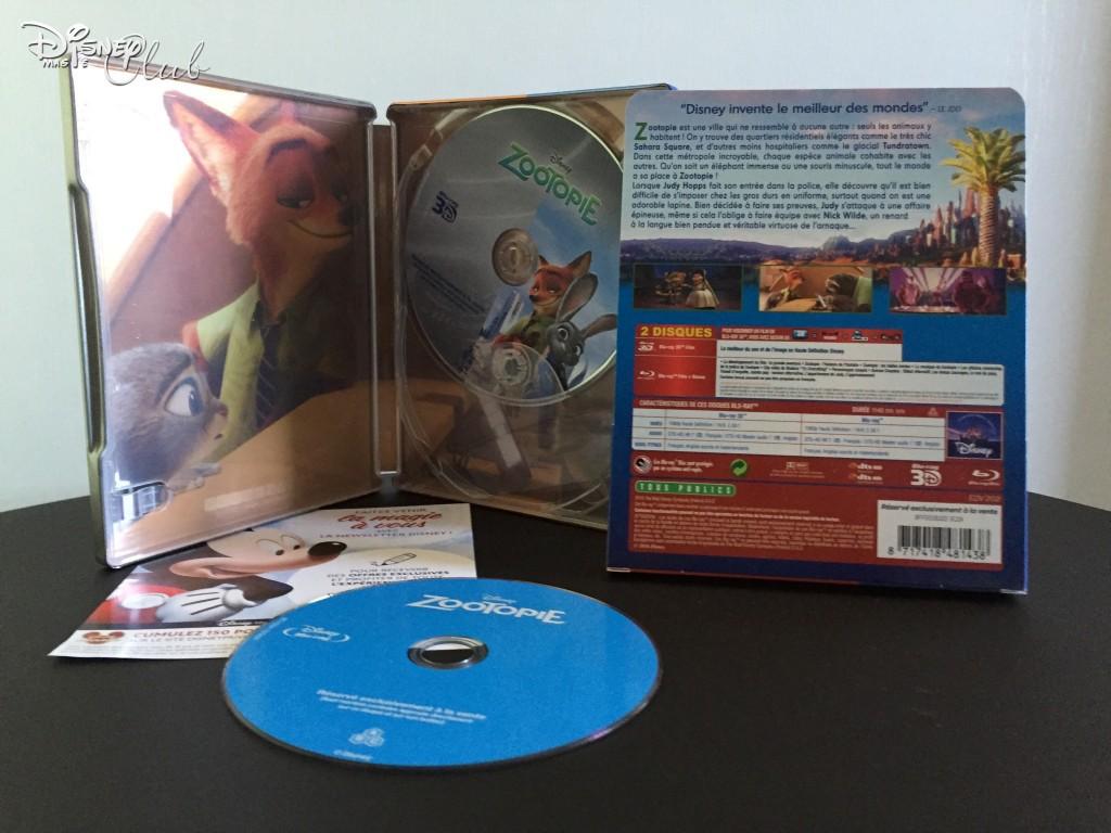 Blu-Ray Steelbook Zootopie