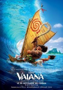 Affiche VF du film Vaiana (Moana)