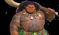 Maui dans Vaiana (Moana)