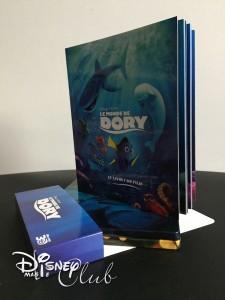 Le Monde de Dory : Livre du film