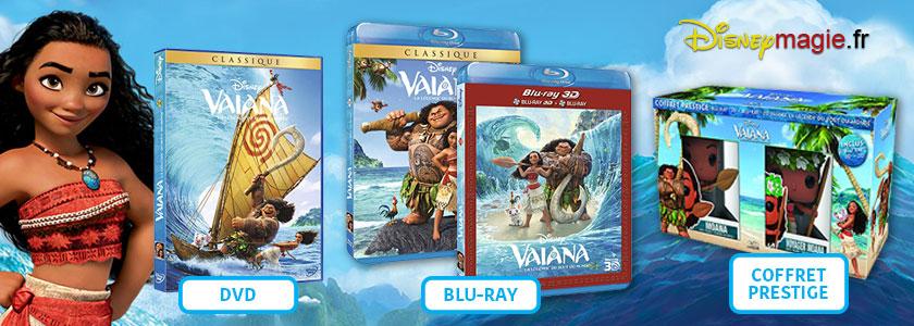 Vaiana : Blu-Ray DVD FR