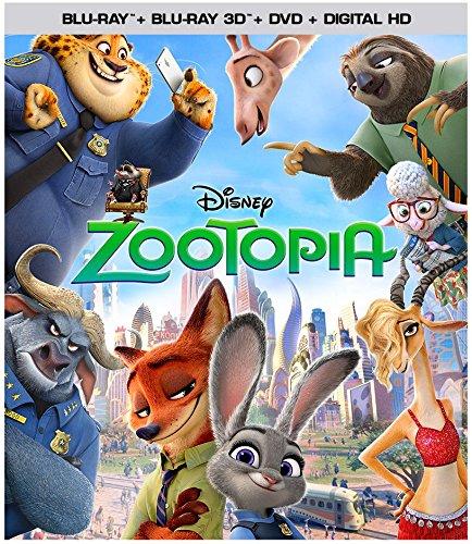 Infos Sur La Sortie Blu-Ray De Zootopia